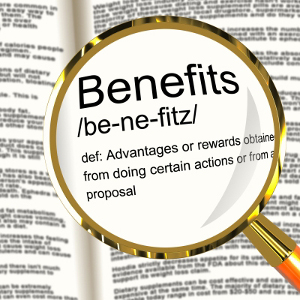 Benefits icon.