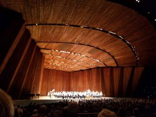 Cleveland Orchestra on the Blossom Music Center stage