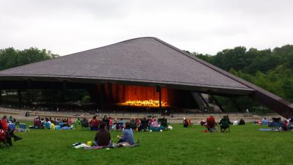 The Cleveland Orchestra performs at Blossom Music Festival.