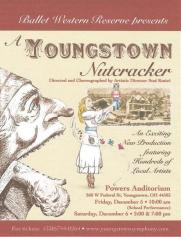 A Youngstown Nutcracker poster