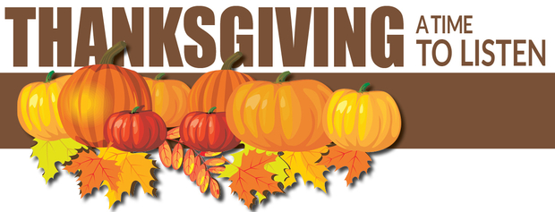 Thanksgiving: A Time to Listen