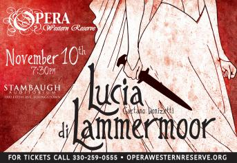 Poster for Lucia di Lammermoor