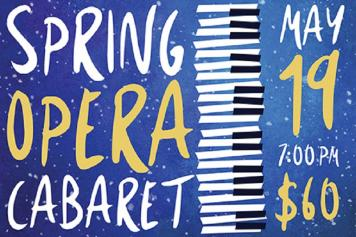 Opera Cabaret artwork and information on May 19