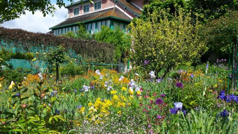 Monet's house, gardens and museum at Giverny