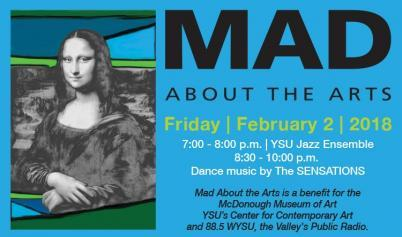 MAD ABOUT THE ARTS MONA LISA FLIER