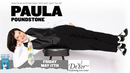 Paula Poundstone in Youngstown on May 17, 2019